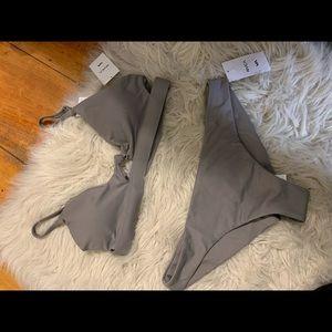Other - Brand new grey bikini w/ tags